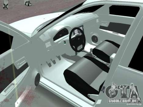 Lada Priora Adidas para GTA San Andreas esquerda vista
