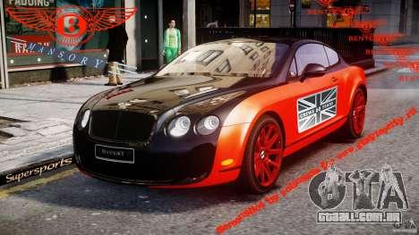 Bentley Continental SS 2010 Le Mansory [EPM] para GTA 4