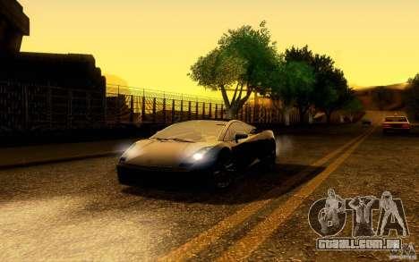 ENB Series - BM Edition v3.0 para GTA San Andreas quinto tela