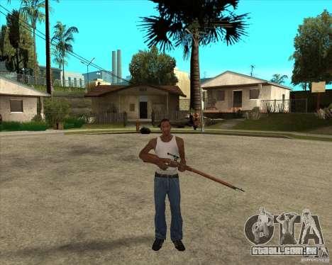 Armas da chamada do dever para GTA San Andreas por diante tela