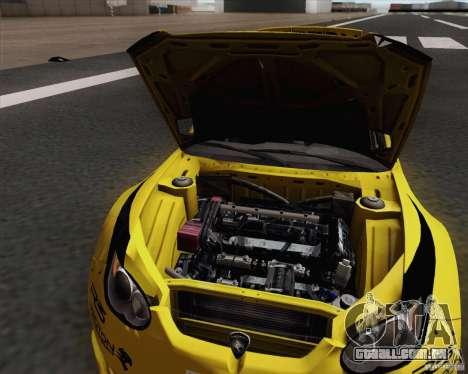 Satria Neo S2000 para GTA San Andreas vista traseira