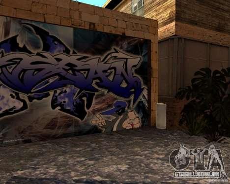 New Ghetto para GTA San Andreas quinto tela