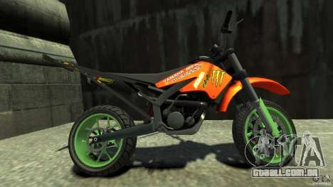 Stunt Supermotard Sanchez para GTA 4