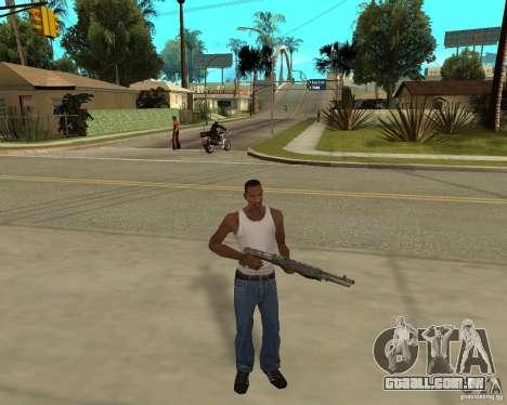 Armas de STALKERa para GTA San Andreas terceira tela