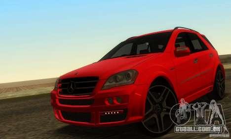 Mercedes-Benz ML63 AMG Brabus para GTA San Andreas