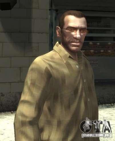 Novos óculos para o Niko-pink para GTA 4 segundo screenshot