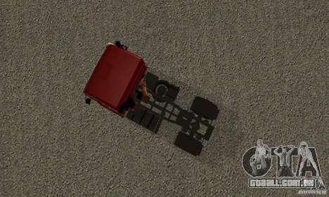 KAMAZ 5460 pele 2 para GTA San Andreas vista traseira