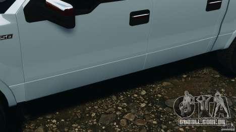 Ford F-150 v1.0 para GTA 4 vista lateral