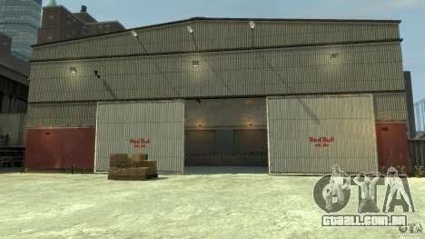 Red Bull Factory para GTA 4 quinto tela
