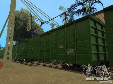 Modificação da estrada de ferro III para GTA San Andreas nono tela