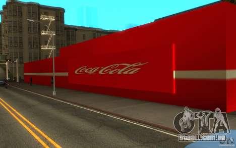 Coca Cola Market para GTA San Andreas segunda tela