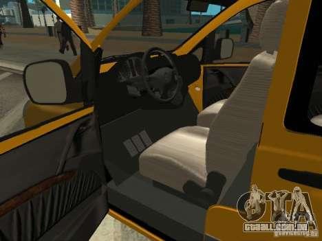 Mercedes-Benz Vito 2003 para GTA San Andreas traseira esquerda vista