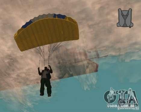 Pára-quedas sem fim para GTA San Andreas terceira tela