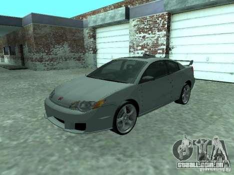 Saturn Ion Quad Coupe 2004 para GTA San Andreas vista superior