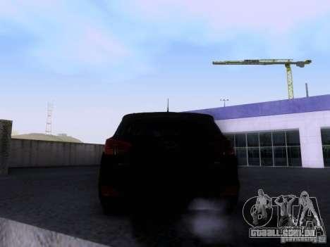 Hyundai ix35 para GTA San Andreas vista direita