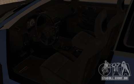 Acura Integra Type R 2000 para GTA San Andreas vista traseira