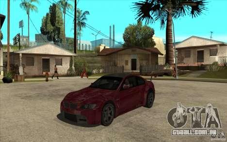 BMW M3 2009 para GTA San Andreas