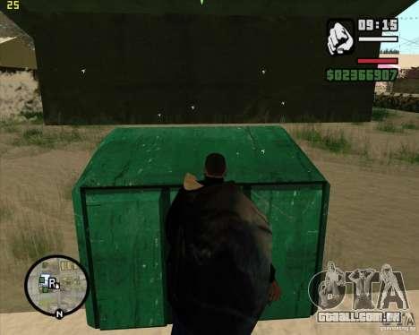 Faz um lixo para GTA San Andreas sétima tela