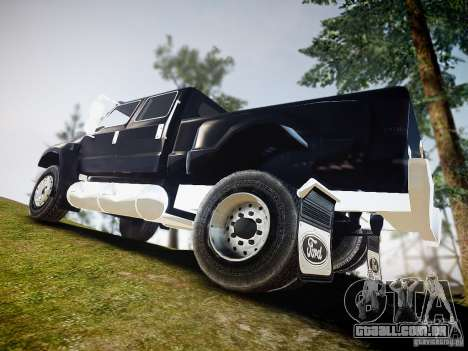 Ford F-650 Super Crewzer para GTA 4 esquerda vista