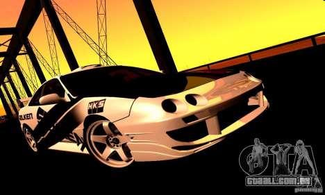 Acura Integra Type R para GTA San Andreas traseira esquerda vista