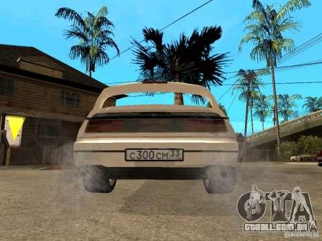Nissan 300 ZX para GTA San Andreas traseira esquerda vista