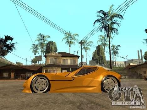 Gillet Vertigo para GTA San Andreas esquerda vista