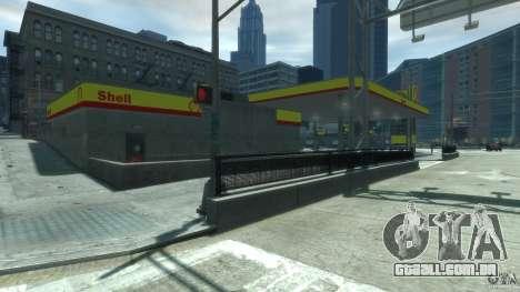 Shell Petrol Station V2 Updated para GTA 4 terceira tela