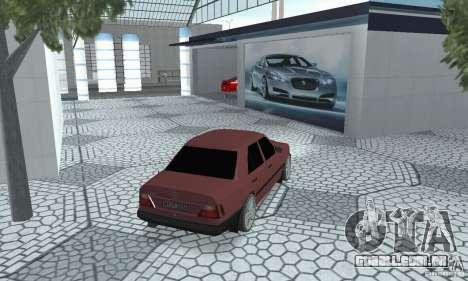 Mercedes-Benz 200D para GTA San Andreas esquerda vista