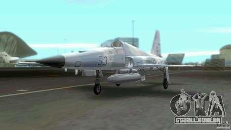 US Air Force para GTA Vice City vista direita