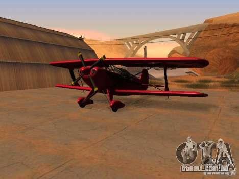 Gráficos das versões do console para GTA San Andreas