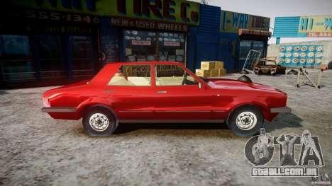 Ford Taunus para GTA 4 vista de volta