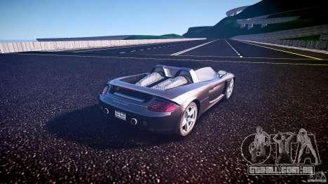 Porsche Carrera GT v.2.5 para GTA 4 traseira esquerda vista