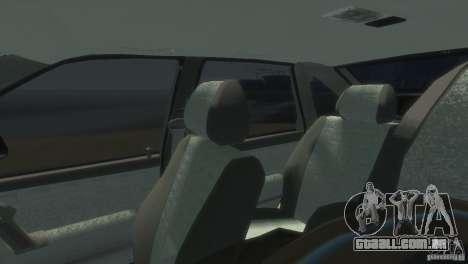 VAZ-2112 para GTA 4 vista de volta