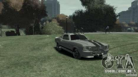 Ford Shelby GT500 Eleanor para GTA 4 vista direita