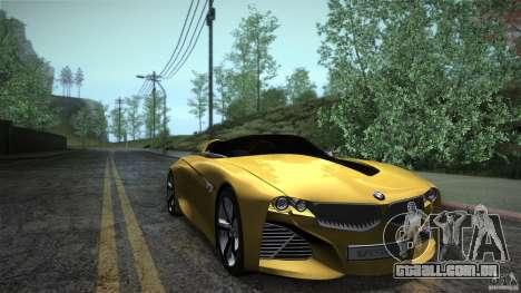 BMW Vision Connected Drive Concept para GTA San Andreas vista traseira