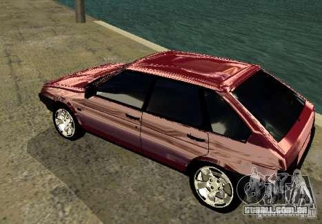 Cromo 2109 Vaz para GTA San Andreas vista direita
