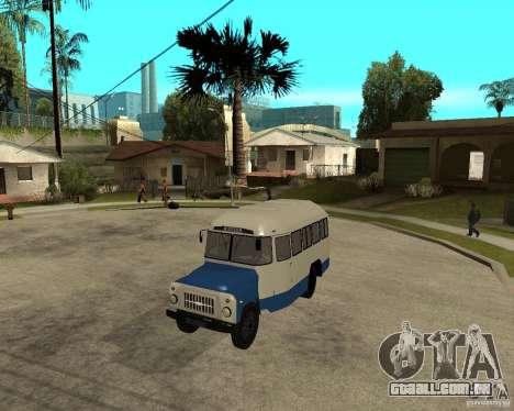 Kavz-685 para GTA San Andreas esquerda vista