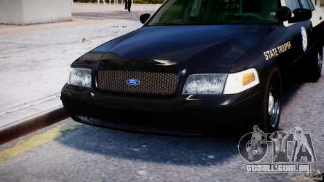 Ford Crown Victoria Fl Highway Patrol Units ELS para GTA 4 vista inferior