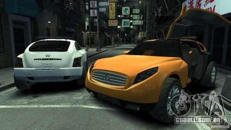 Infiniti Triant Concept para GTA 4 esquerda vista