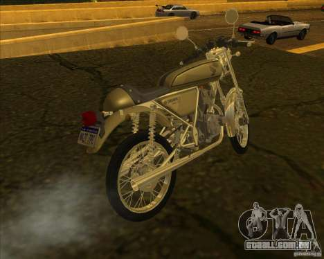Honda Dream 50 para GTA San Andreas esquerda vista