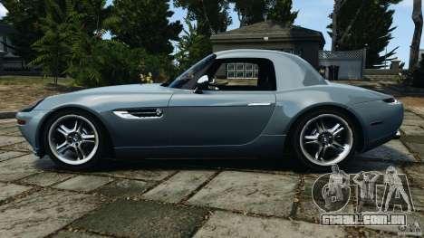 BMW Z8 2000 para GTA 4 esquerda vista