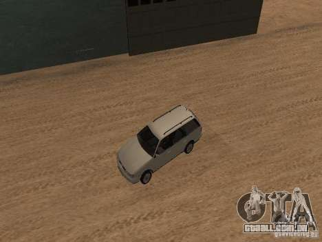 Volkswagen Passat B4 para GTA San Andreas vista superior
