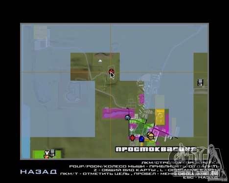 Um Prostokvasino para o CD para GTA San Andreas sétima tela