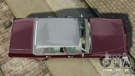 Cadillac Fleetwood Brougham Delegance 1986 para GTA 4 vista de volta