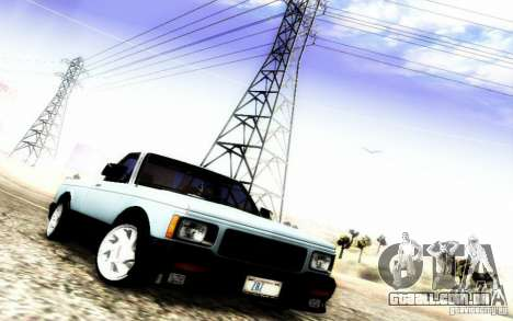 GMC Syclone Stock para vista lateral GTA San Andreas
