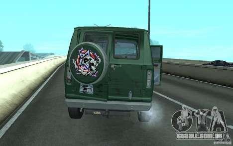 Ford E-150 Short Version v3 para GTA San Andreas vista direita