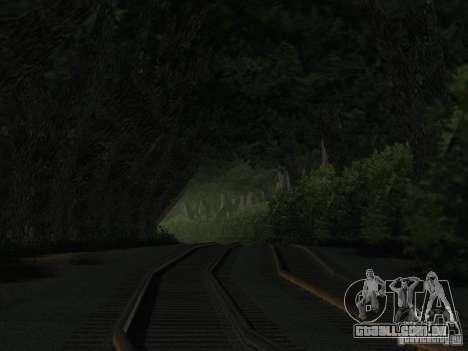 Floresta em Las Venturas para GTA San Andreas quinto tela