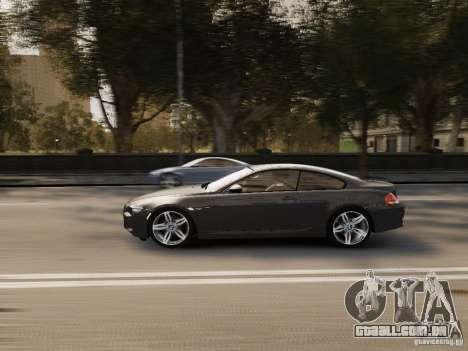 BMW M6 2010 para GTA 4 vista interior