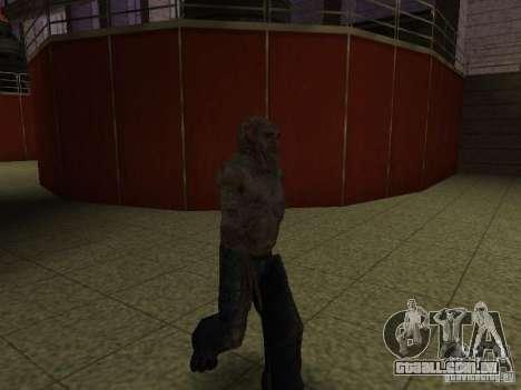 Controlador de STALKER para GTA San Andreas terceira tela