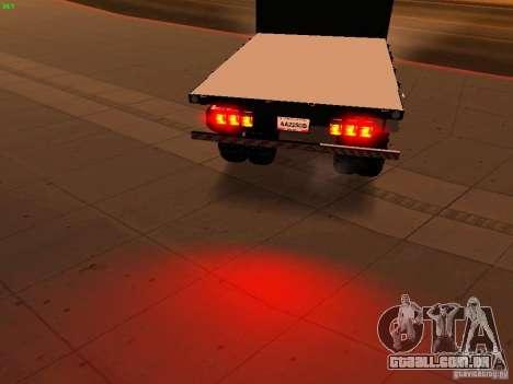 Chevrolet Silverado HD 3500 2012 para GTA San Andreas vista inferior